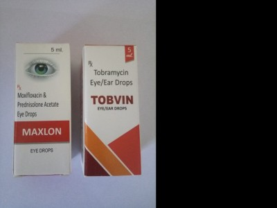 MOXIFLOXACIN & PREDNISOLONE ACETATE EYE DROP