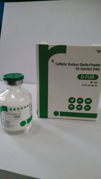 CEFTIOFUR SODIUM STERILE POWDER FOR INJECTION (VET)