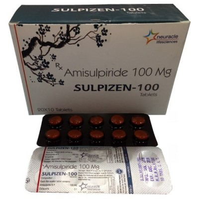 AMISULPIRIDE 100 MG TABLET