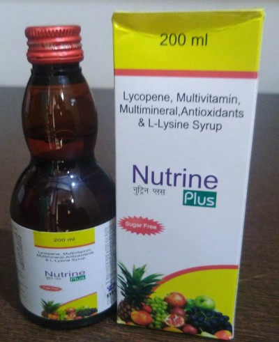 LYCOPENE, MULTIVITAMINS,MULTIMINERALS WITH ANTIOXIDANTS & L-LYSINE SYRUP
