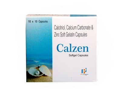 CALCITRIOL 0.25MCG+CALCIUM CARBONATE 500MG+ZINC 7.5MG SOFT GEL CAP