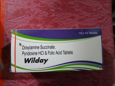 DOXYLAMINE SUCCINATE 1MG+ PYRIDOXINE HCL 1MG+ FOLIC ACID 2.5MG