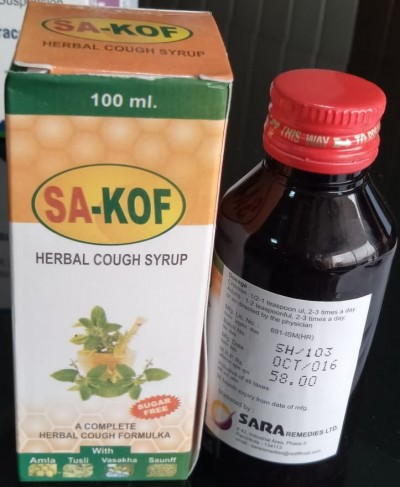 HERBAL COUGH SYRUP