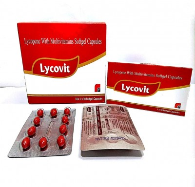 LYCOPENE WITH MULTIVITAMINS SOFTGEL CAPSULES