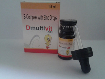 Multivitamins, B-complex with Zinc Drops