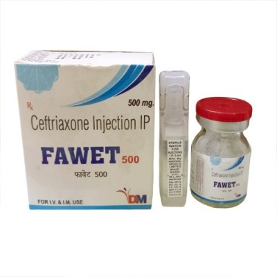 CEFTRIAXONE500 Injection