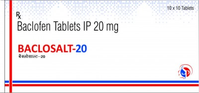 Baclofen Tablets IP 20 mg