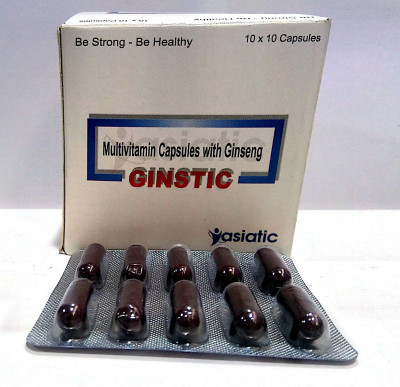 MULTIVITAMINS CAPSULES WITH GINSENG