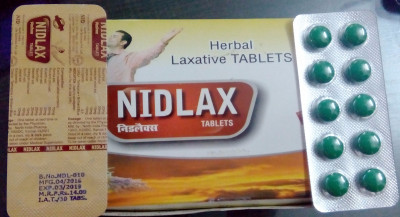 laxative tablet