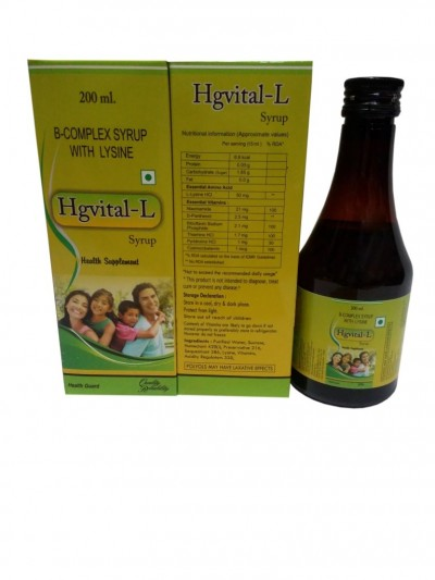 B-COMPLEX SYRUP WITH LYSINE