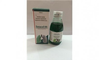 Terbutaline Sulphate 1.25mg+Bromhexine Hcl 4mg+Guaiphensin 50mg+Menthol 1.0mg Syrup