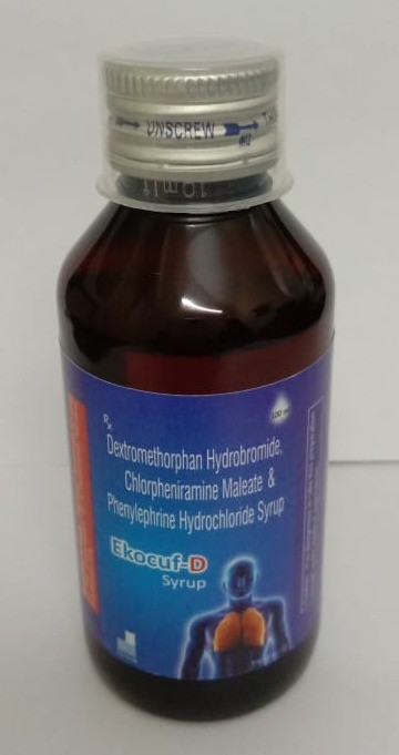 Dextromethorphan HB 10mg + Phenylephrine 5mg + Chlorpheniramine 2mg Syrup