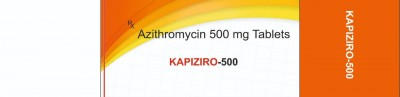 AZITHROMYCIN TABLETS I.P. 500MG