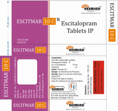 ESCITALOPRAM TABLETS IP