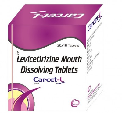 Levicetirizine mouth dissolving tablets