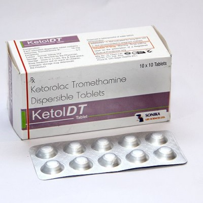 KETOROLAC TROMETHAMINE DISPERSIBLE TABLETS