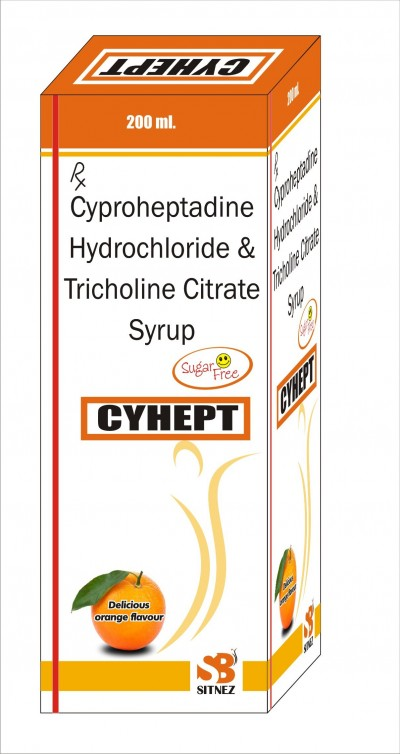 CYPROHEPTADINE HCL, & TRICHOLINE CITRATE SYRUP