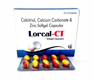 Calcitrol, Calcium carbonate & Zinc softgels