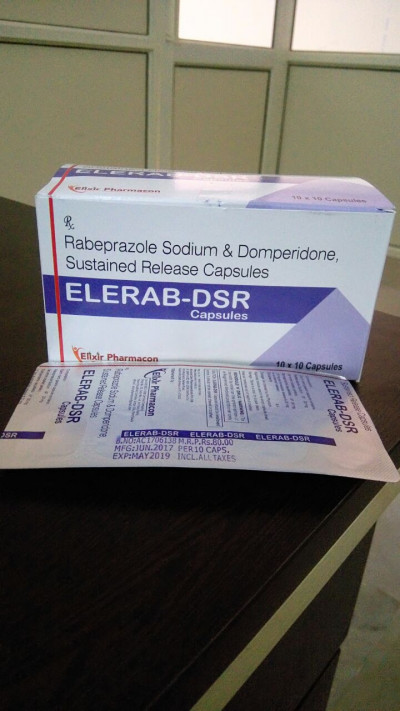 Rabeprazole Sodium 20mg+Domperidone 30mg S.R.