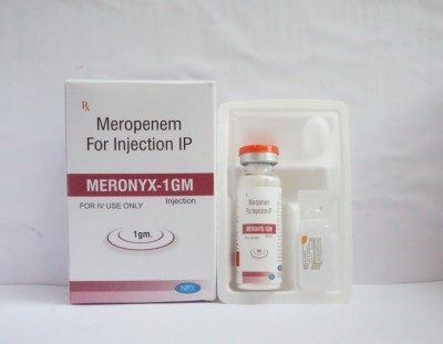 MEROPENEM FOR INJECTION IP