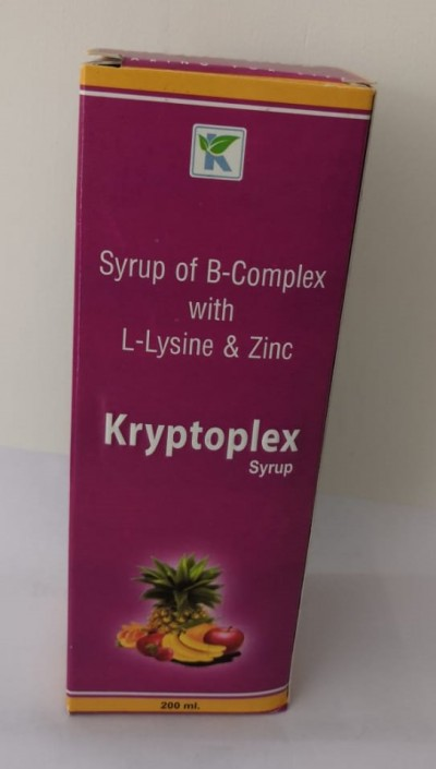 SYRUP OF B-COMPLEX WITH L-LYSINE & ZINC