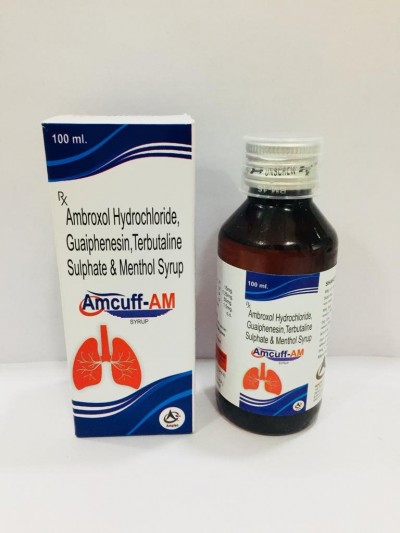 AMBROXOL HYDRPCHLORIDE TERBUTALINE SULPHATE, GUAIPHENESIN & MENTHOL SYRUP