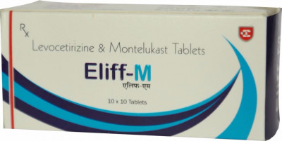 Levocetirizine 5mg and Montelukast 10 mg tab