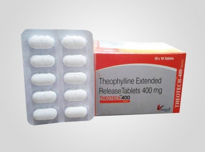 THEOPHYLLINE EXTENDED RELEASE TABLETS 400MG