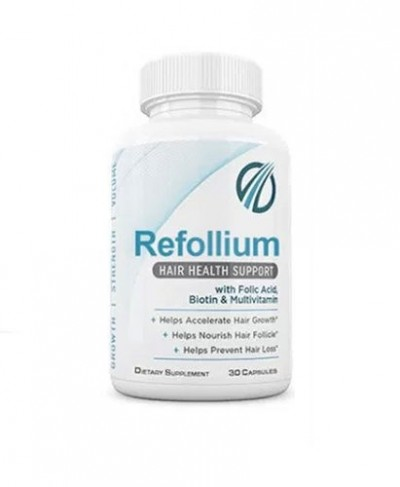 Refollium For Natural Hair Regrowth